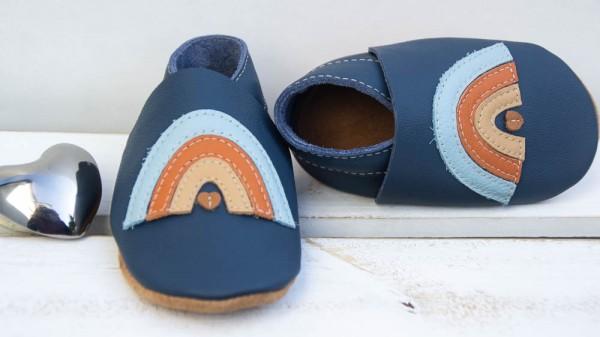 Regenbogen - jeansblau