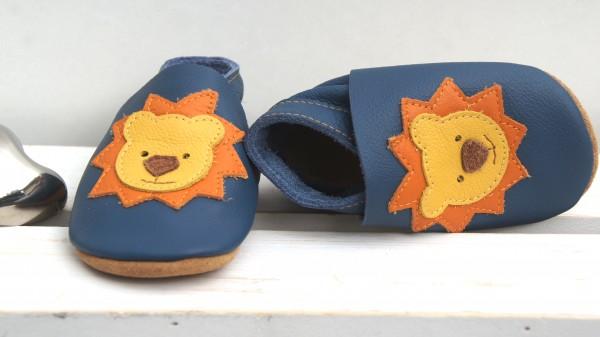 Löwe - jeansblau