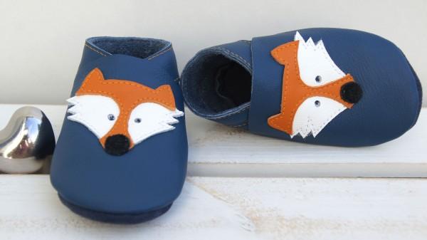 Fuchs - jeansblau