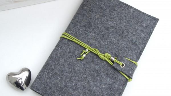 Band - dunkelgrau/grün