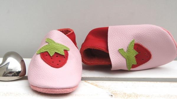 Erdbeere - rosa/rot
