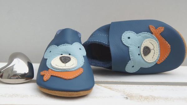 Teddy - jeansblau/bleu