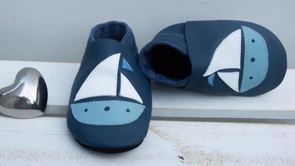 Boot - jeansblau