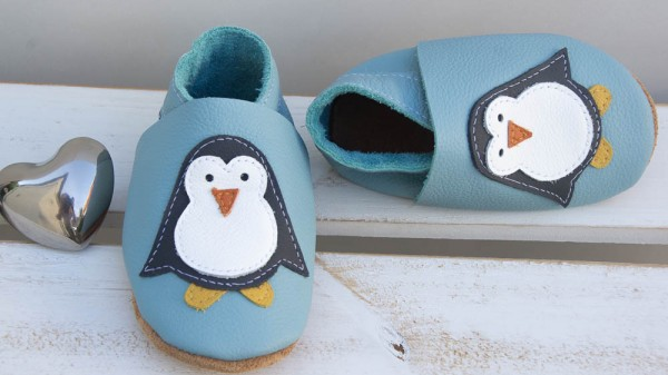 Pinguin - hellblau